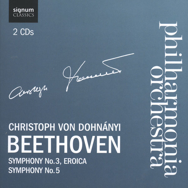 Philharmonia Orchestra - Beethoven 3 and 5