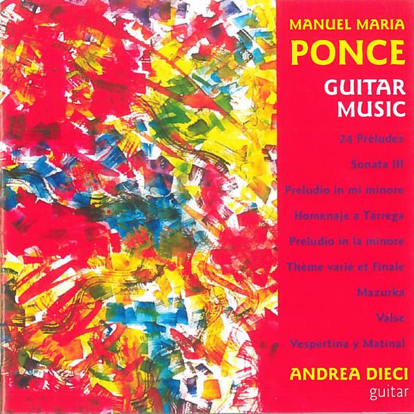 Andrea Dieci - Guitar Music