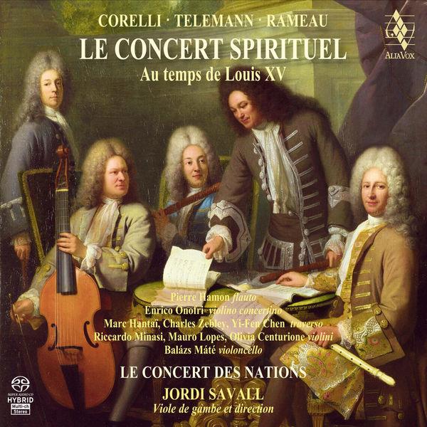 Jordi Savall - Le Concert Spirituel au temps de Louis XV
