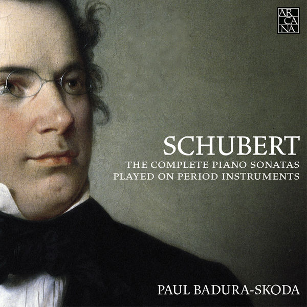 Paul Badura-Skoda - Schubert: The Complete Piano Sonatas Played on Period Instruments