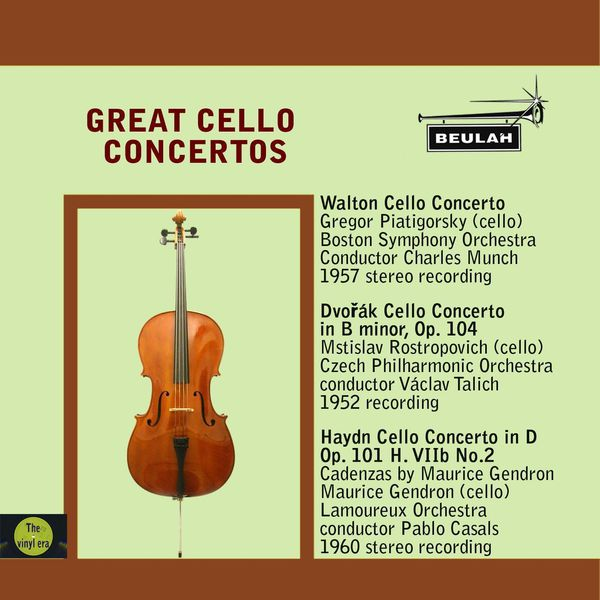 Various Artists - Great Cello Concertos