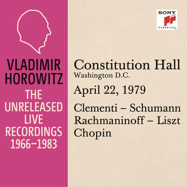 Vladimir Horowitz - Vladimir Horowitz in Recital at Constitution Hall, Washington D. C., April 22, 1979