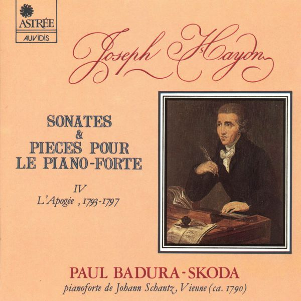 Paul Badura-Skoda - Haydn: Sonates & pièce pour le piano-forte, Vol. 4 (L'apogée)