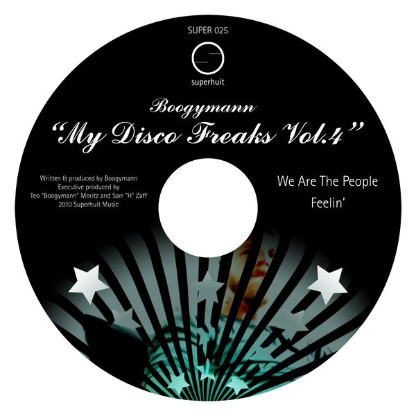 Boogymann - My Disco Freaks, Vol.4