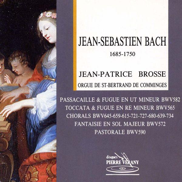 Jean-Patrice Brosse - Bach : Jean-Patrice Brosse à l'orgue de St-Bertrand de Comminges