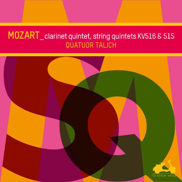 Talich Quartet - Mozart : String Quintets KV516 & 515 - Clarinet Quintet KV581