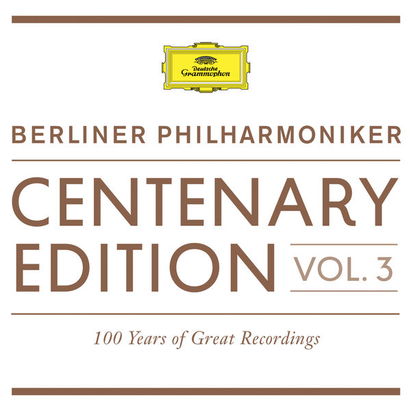 Berliner Philharmoniker - Berliner Philharmoniker Centenary Edition 1913-2013 (100 Years of Great Recordings), vol. 3