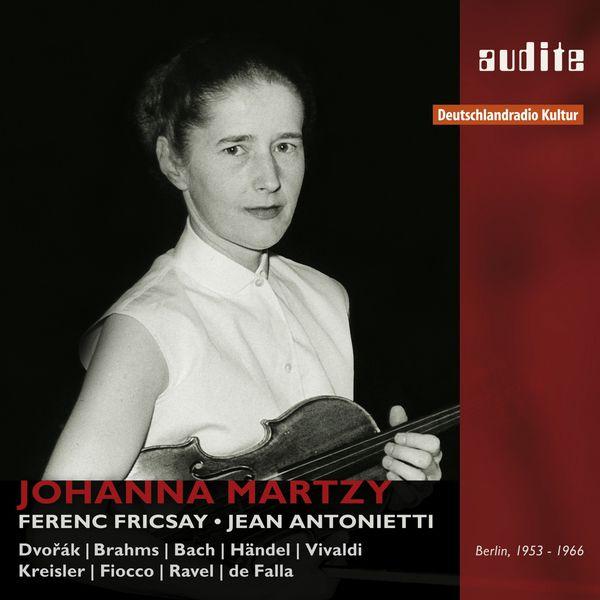 Johanna Martzy - Portrait Johanna Martzy