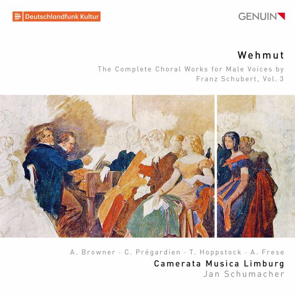 Camerata Musica Limburg - Wehmut: The Complete Choral Works for Male Voices by Franz Schubert, Vol. 3