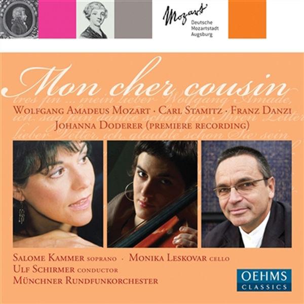 "Ulf Schirmer - DODERER, J.: Mon cher cousin / STAMITZ, C.: Cello Concerto No. 1 / MOZART, W.A.: Divertimento, ""Salzburg Symphony No. 1"" (Leskovar, Kammer)"