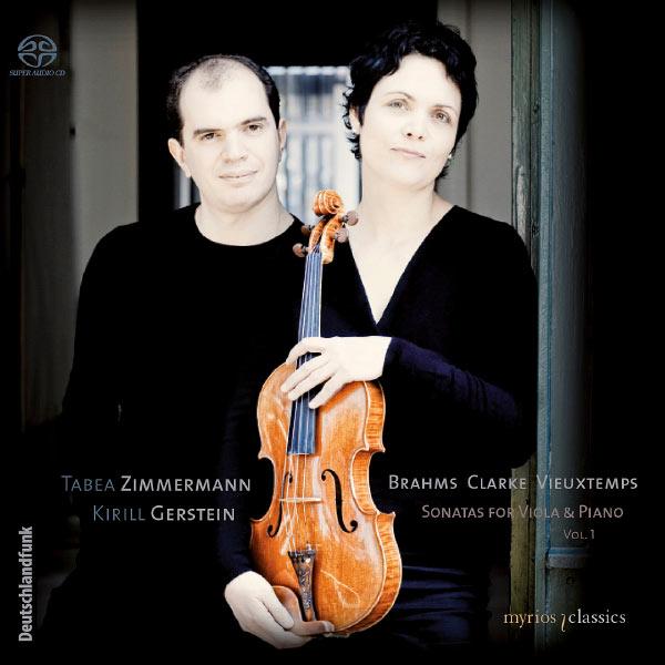 Tabea Zimmermann - Brahms, Clarke & Vieuxtemps: Sonatas for Viola & Piano, Vol. 1