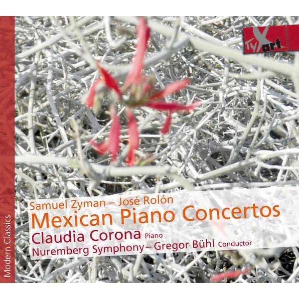 Claudia Corona|Concertos mexicains pour piano