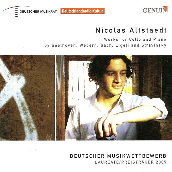 Nicolas Altstaedt - Cello Recital (Works by Bach, Beethoven, Ligeti, Stravinsky, Webern)