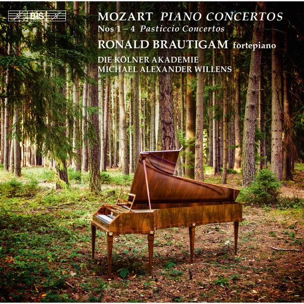 """Ronald Brautigam - Mozart: Piano Concertos Nos. 1-4 """"Pasticcio Concertos"""""""