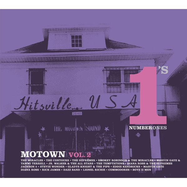 Various Artists - Motown #1's Vol. 2 ( International version )