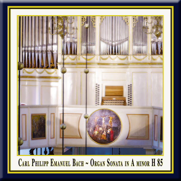 Ulrike Northoff - C.Ph.E.Bach: Organ Sonata in A Minor, H. 85, Wq. 70/4 / Orgelsonate in a-moll (Wq 70:4)