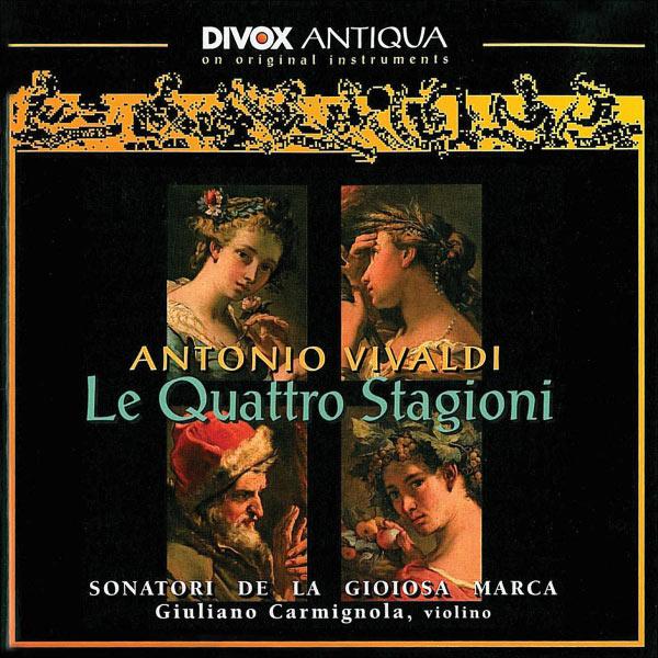 Giuliano Carmignola - Vivaldi: 4 Seasons (The) (Sonatori De La Gioiosa Marca)