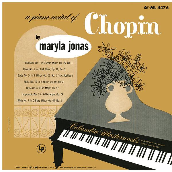 Maryla Jonas - Maryla Jonas: A Piano Recital of Chopin