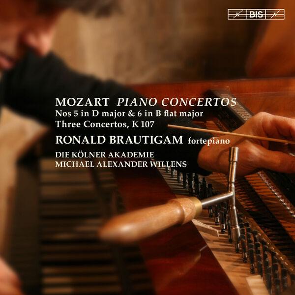 Ronald Brautigam - Mozart : Piano Concertos No 5 & No 6