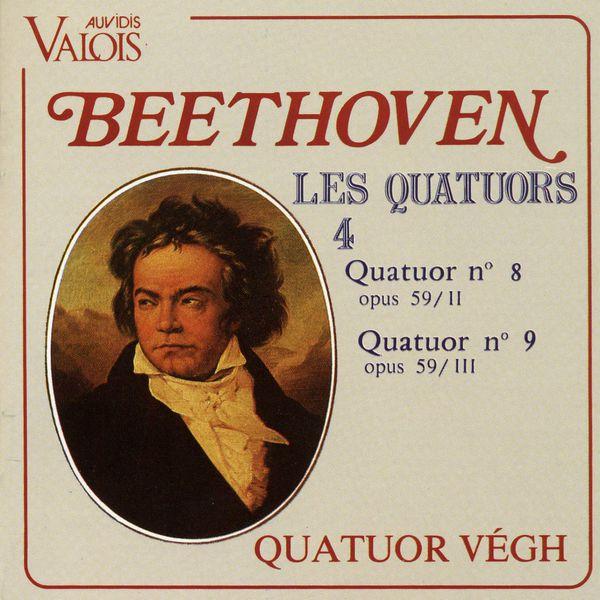 Quatuor Végh - Beethoven: Les quatuors, Vol. 4