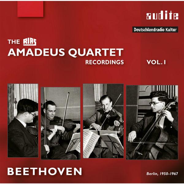 Amadeus Quartet - Beethoven: The Amadeus Quartet Recordings, Vol. 1 (Berlin, 1950-1967)