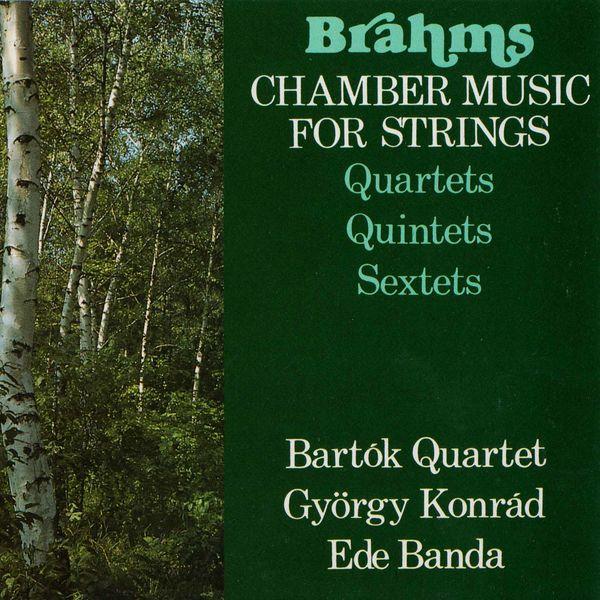 Gyorgy Konrad - Brahms: Chamber Music for Strings