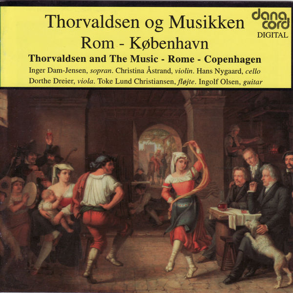 Christina Åstrand - Thorvaldsen and The Music - Rome - Copenhagen
