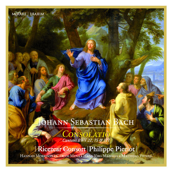 Philippe Pierlot - J.S. Bach : Consolatio