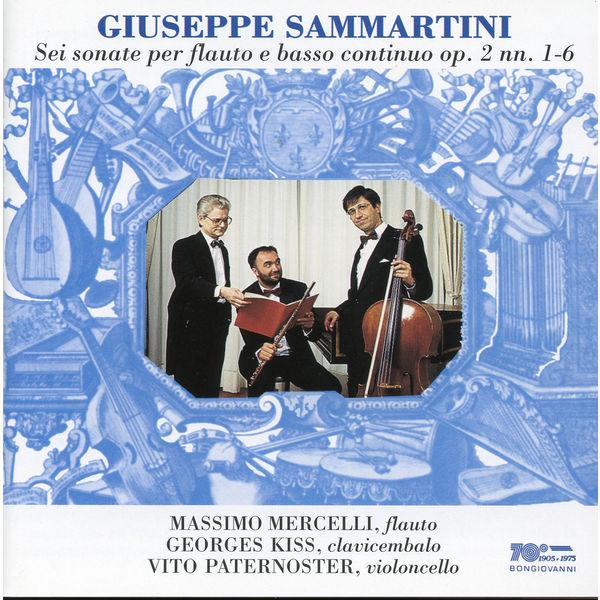 Massimo Mercelli - Sammartini: Sonata for Flute and Basso Continuo, Op. 2, Nos. 1-6