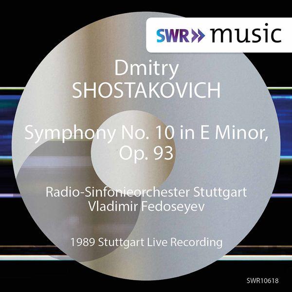 Radio-Sinfonieorchester Stuttgart des SWR - Shostakovich: Symphony No. 10 in E Minor, Op. 93 (1989 Live Recording)