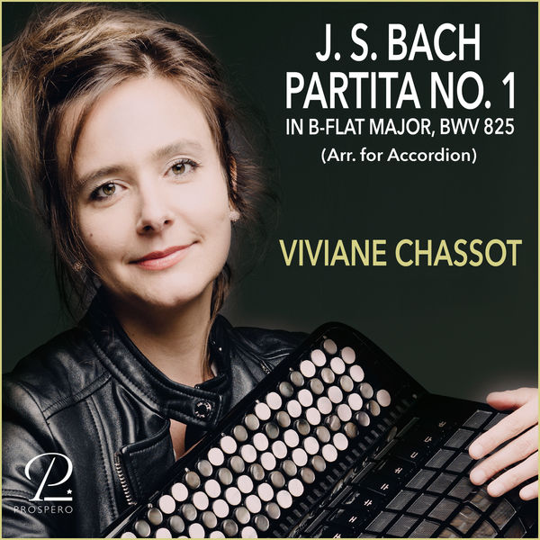 Viviane Chassot - Bach: Partita No. 1 in B-Flat Major, BWV 825 (Arr. for Accordion)