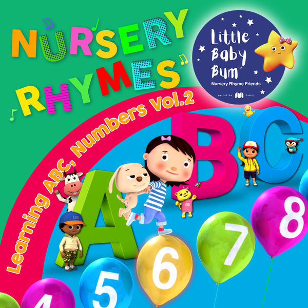 Little Baby Bum Nursery Rhyme Friends - Learning ABC & Numbers with LittleBabyBum, Vol. 2
