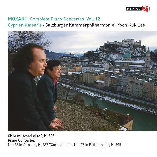 Cyprien Katsaris - Mozart: Complete Piano Concertos, Vol.12 (Live - K.537 & 595)