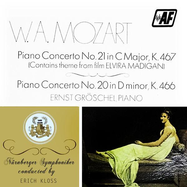 Nürnberger Symphoniker - Piano Concerto No. 21 in C Major, K. 467 / Piano Concerto No. 20 in D Minor, K. 466