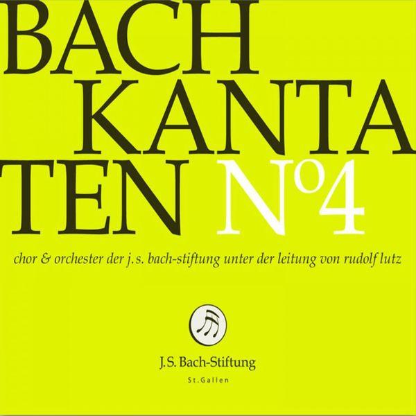Chor der J. S. Bach-Stiftung - Bachkantaten N°4 (BWV 78, 54, 63)