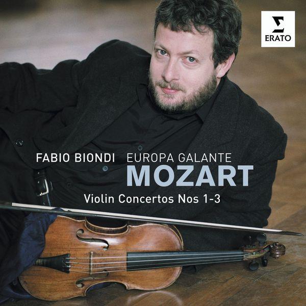 Fabio Biondi/Europa Galante - Mozart Violin Concertos 1,2 & 3