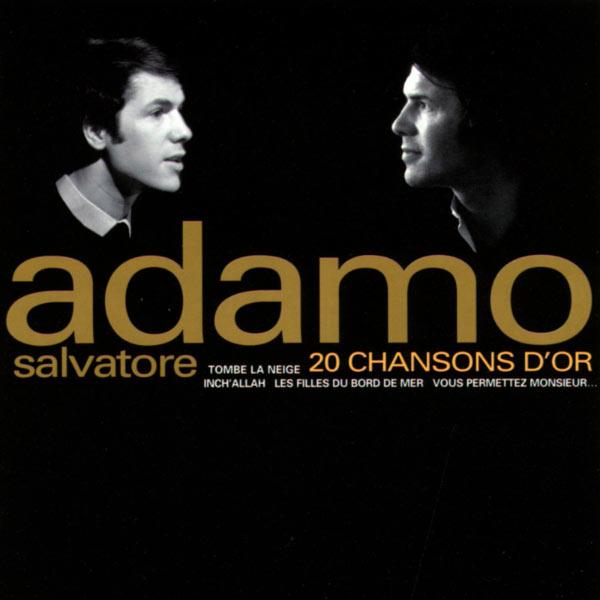 Resultado de imagen para SALVATORE ADAMO 20 Chansons D`or
