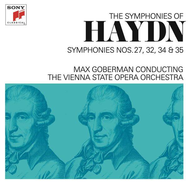 Max Goberman - Haydn: Symphonies Nos. 27, 32, 34 & 35