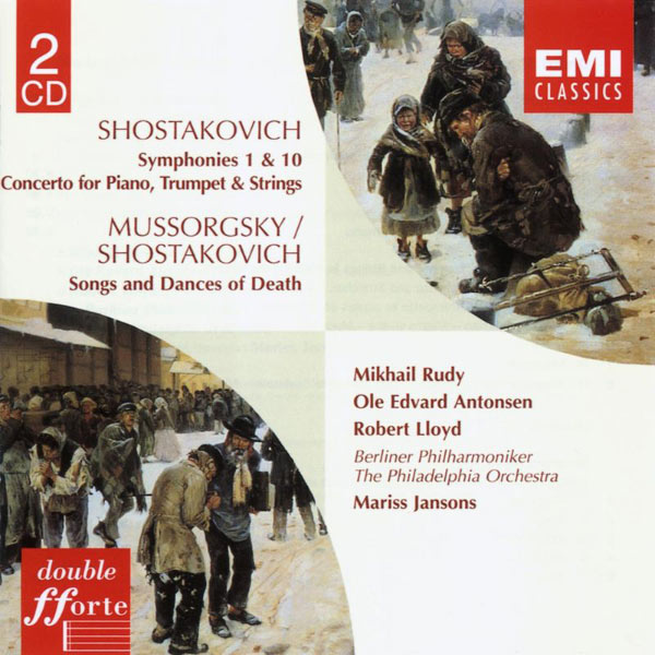 Mariss Jansons - Shostakovich:Symphonies 1 & 10/Concerto for Piano, Trumpet, Strings/Songs & Dances of Death