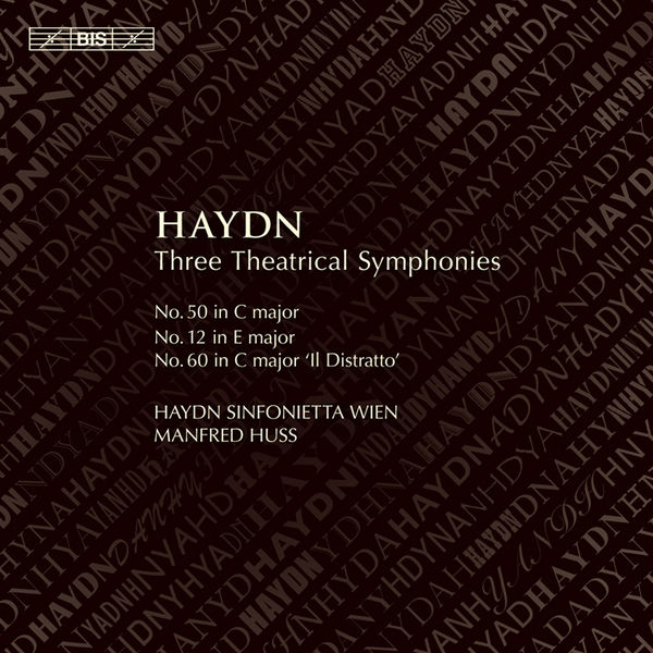 Manfred Huss - Haydn: Three Theatrical Symphonies