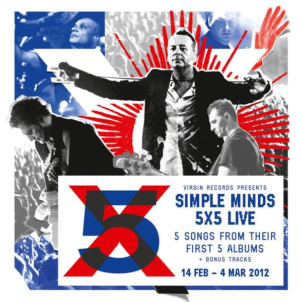 Simple Minds - 5x5 Live
