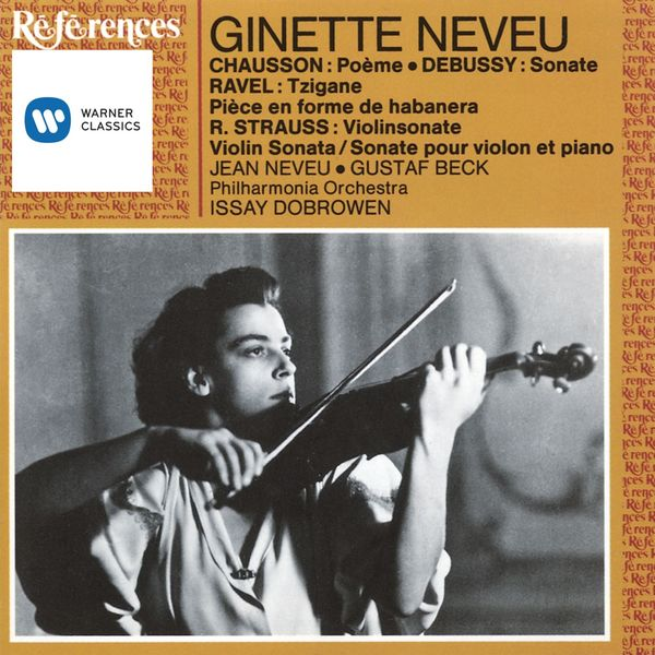 Ginette Neveu - French & German Works for Violin
