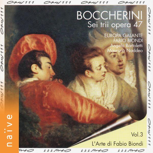 Fabio Biondi - Boccherini: Sei trii opera 47