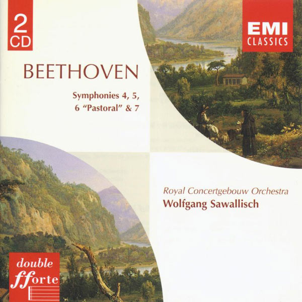 Wolfgang Sawallisch - Beethoven: Symphonies Nos. 4 & 7, 5 & 6
