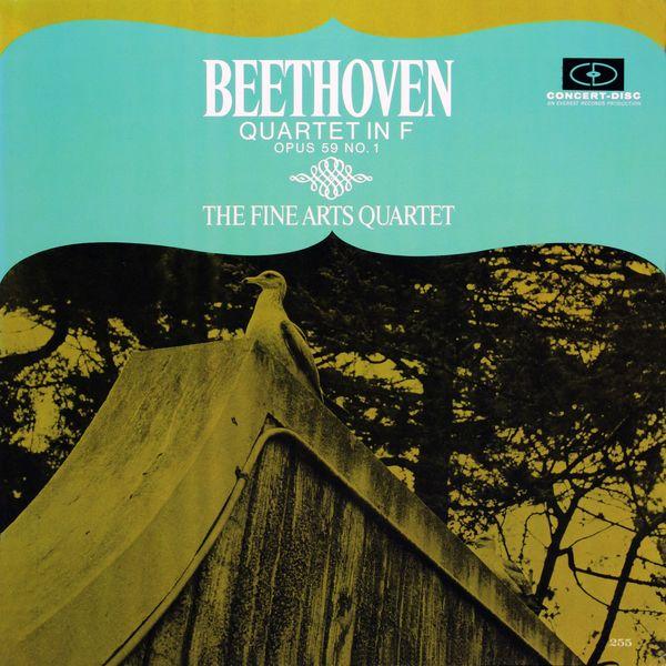 Fine Arts Quartet - Beethoven: Quartet in F Major, Op. 59, No. 1 (Remastered from the Original Concert-Disc Master Tapes)