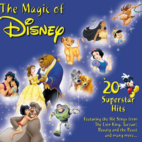 Various Artists - The Magic Of Disney - 20 Superstar Hits
