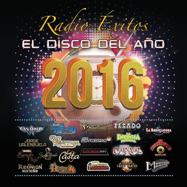 Various Artists - Radio Éxitos El Disco Del Año 2016