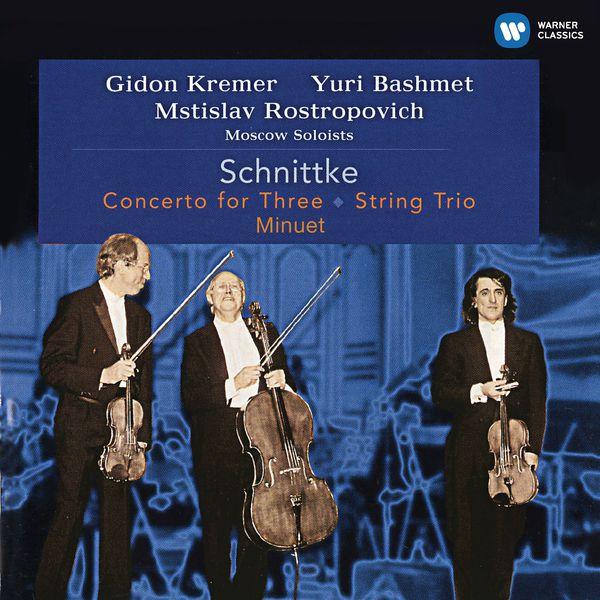 Gidon Kremer - Schnittke: Concerto for Three, String Trio & Minuet (Live)