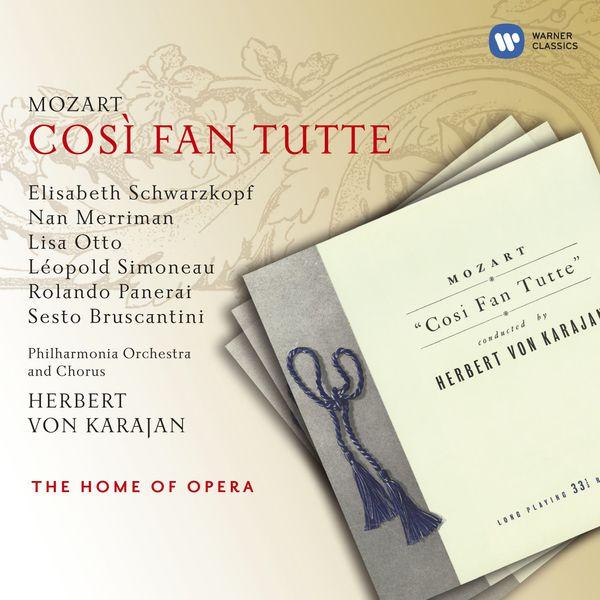 Herbert von Karajan - W. A. Mozart : Cosi fan tutte (1954)