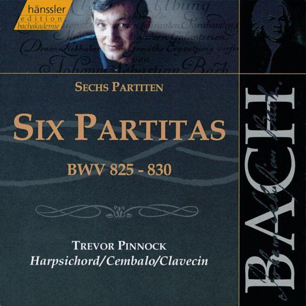 Trevor Pinnock - BACH, J.S.: 6 Partitas, BWV 825-830